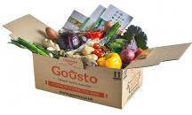 Gousto - the UK's number one recipe box home delivery service